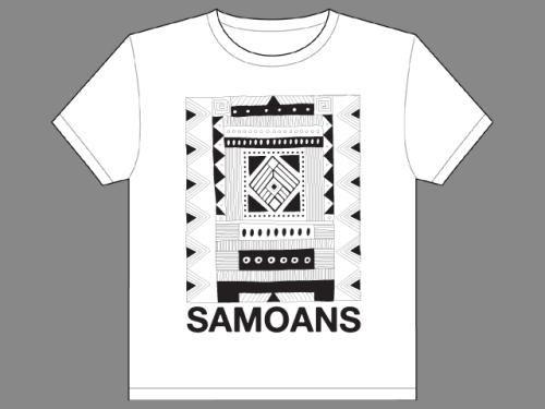 Samoans T-Shirt Mock-Up